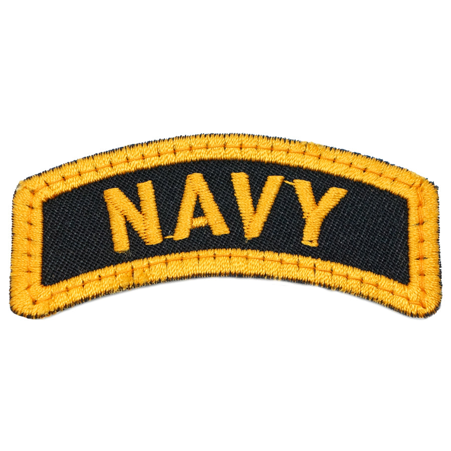 NAVY TAB - BLACK GOLDEN YELLOW