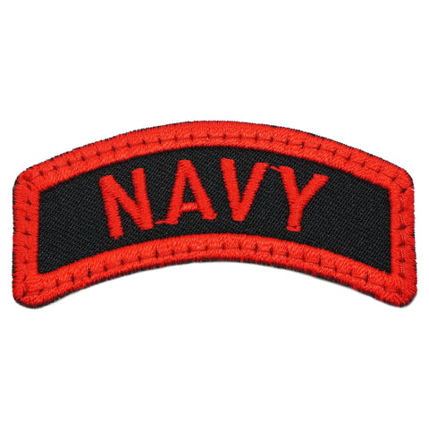 NAVY TAB - BLACK RED