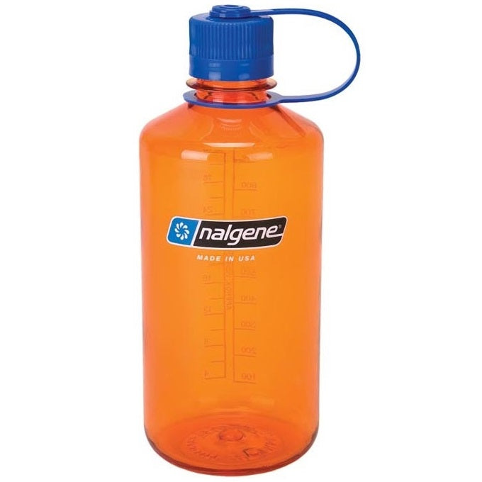NALGENE NARROW MOUTH 32 OZ / 1000 ML - ORANGE