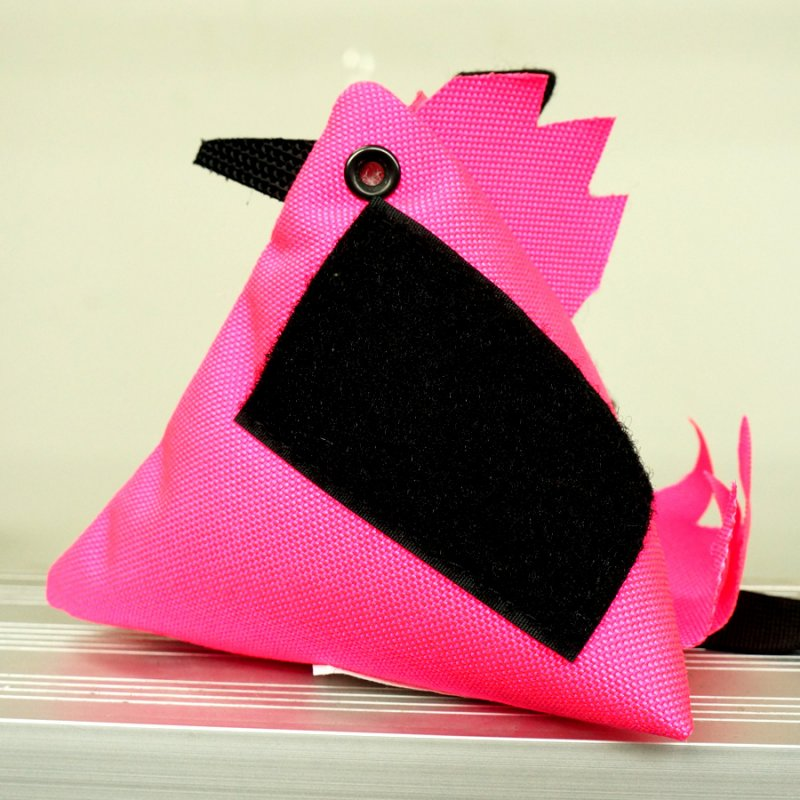 ORIGINAL S.O.E COMBAT COCK - HOT PINK WITH BLACK VELCRO