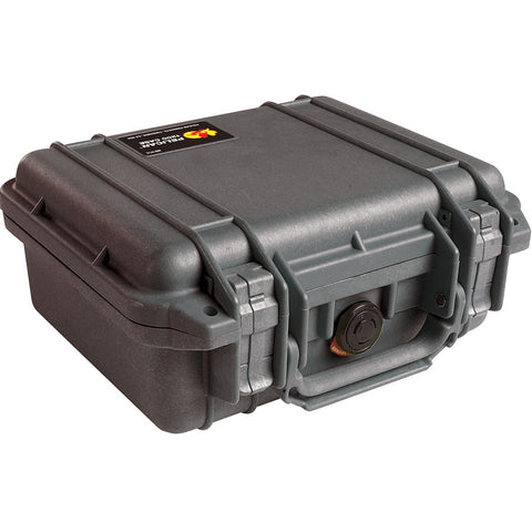 PELICAN 1200 SMALL CASE (WITH FOAM) - BLACK
