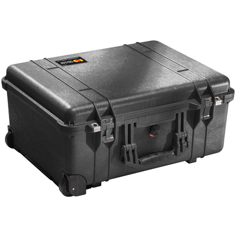 PELICAN 1560 LARGE CASE (WITH FOAM) - BLACK
