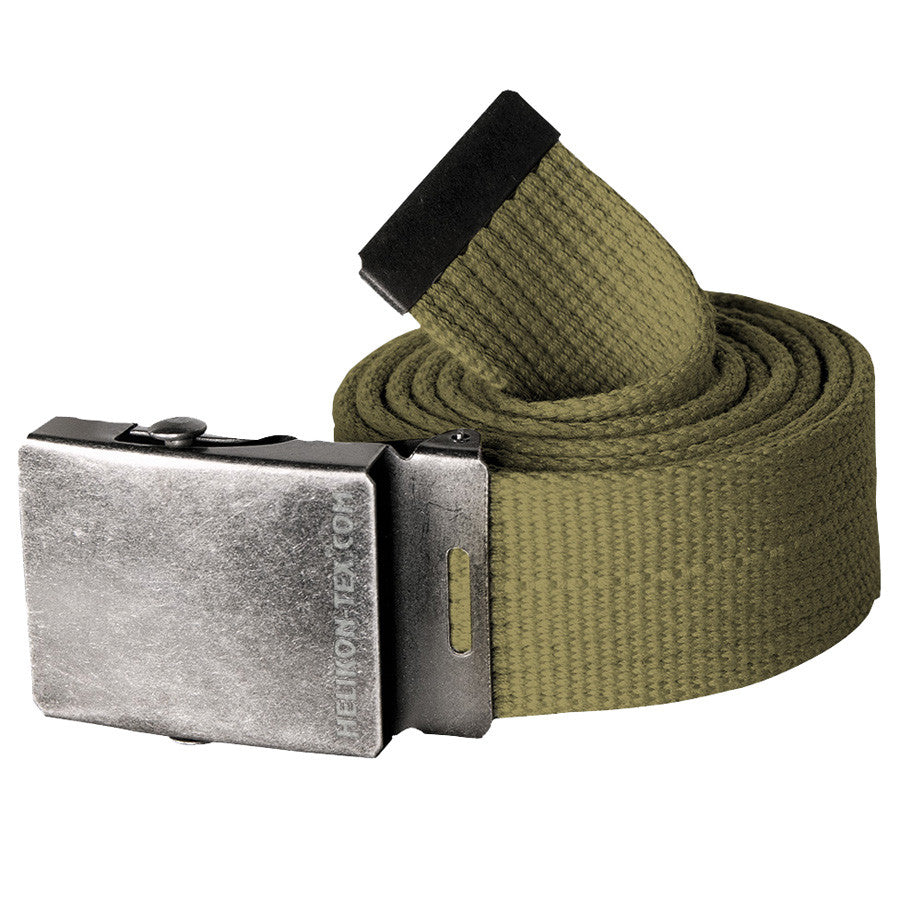 HELIKON-TEX CANVAS BELT - OLIVE GREEN