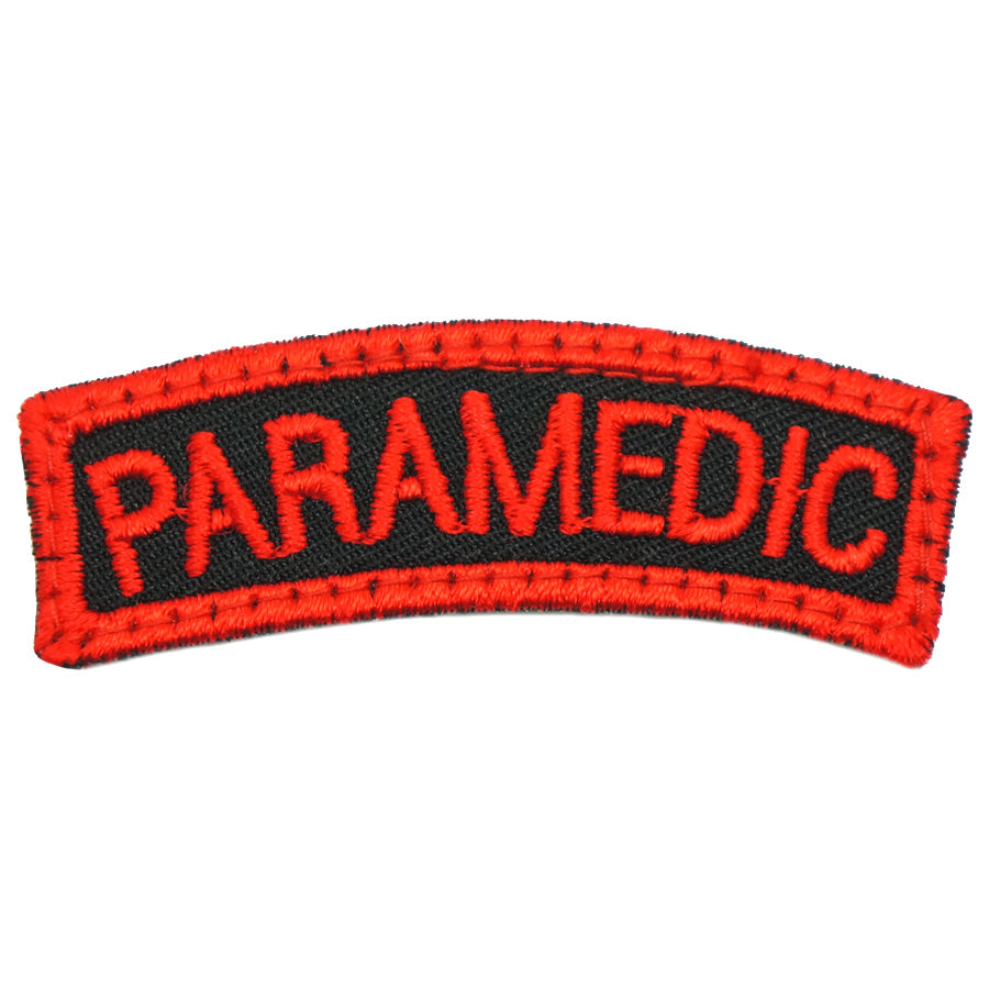 PARAMEDIC TAB - BLACK RED