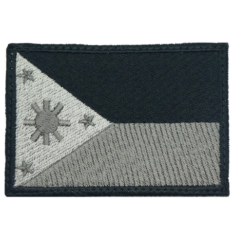 PHILIPPINES FLAG - LARGE (DARK ACU)