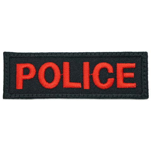 POLICE UNIT TAG - BLACK