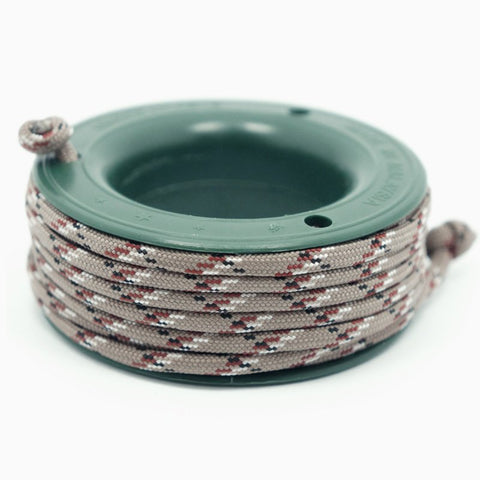 ROTHCO 550 PARACORD MINI SPOOL - ROTHCO DESERT CAMO - Hock Gift Shop | Army Online Store in Singapore