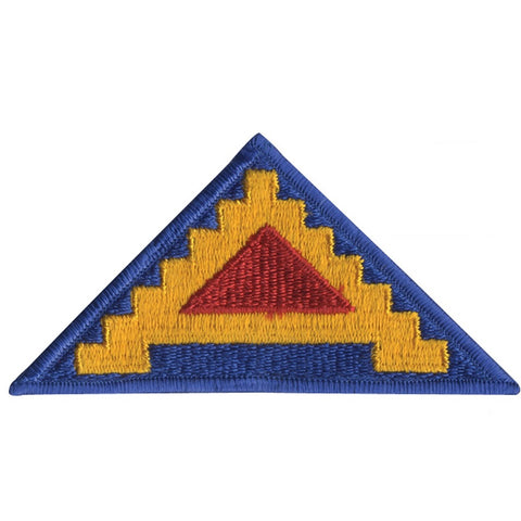 ROTHCO 7TH ARMY SEVEN STEPS TO HELL PATCH HOOK BACKING