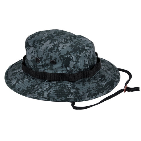 ROTHCO DIGITAL CAMO POLY/COTTON BOONIE HAT - MIDNIGHT DIGITAL