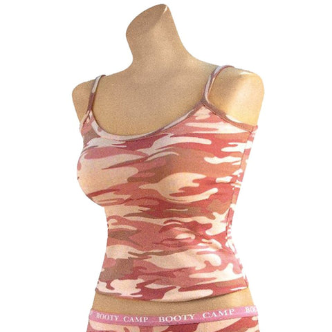 ROTHCO CASUAL TANK TOP - BABY PINK CAMO - Hock Gift Shop | Army Online Store in Singapore