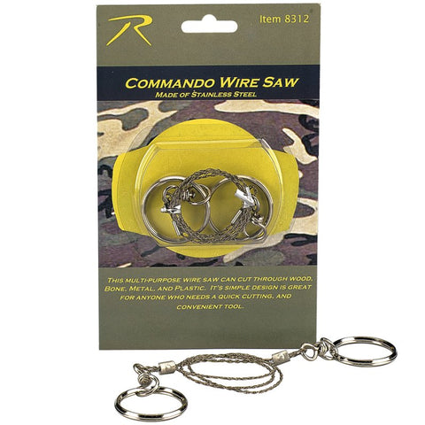 ROTHCO COMMANDO WIRE SAW - Hock Gift Shop | Army Online Store in Singapore
