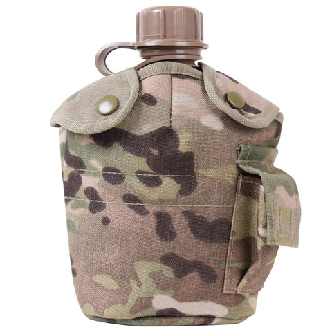 ROTHCO GI STYLE MOLLE CANTEEN COVER - MULTICAM - Hock Gift Shop | Army Online Store in Singapore