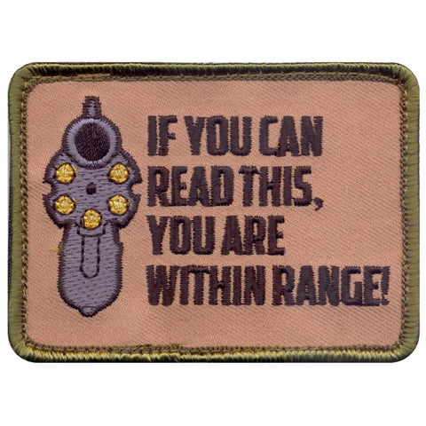 "ROTHCO ""IF YOU CAN READ THIS"" PATCH HOOK BACKING - Hock Gift Shop 