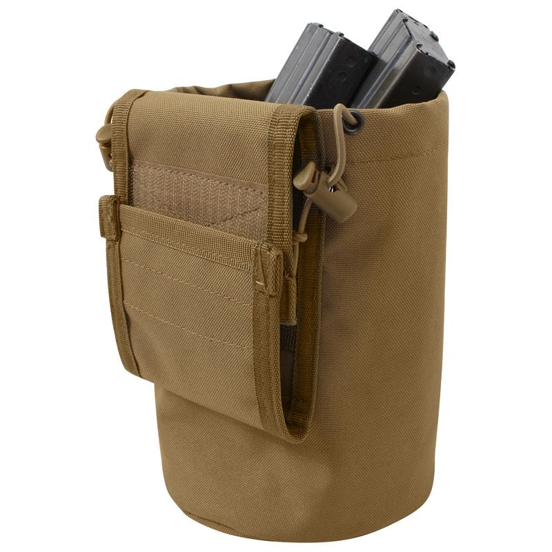 ROTHCO MOLLE ROLL-UP UTILITY / DUMP POUCH - COYOTE - Hock Gift Shop | Army Online Store in Singapore
