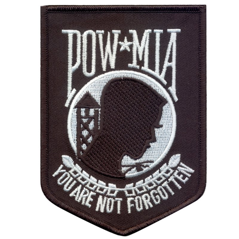 ROTHCO POW / MIA PATCH - BLACK - Hock Gift Shop | Army Online Store in Singapore