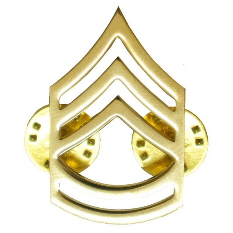 ROTHCO SERGEANT FIRST CLASS POLISHED INSIGNIA PIN - Hock Gift Shop | Army Online Store in Singapore