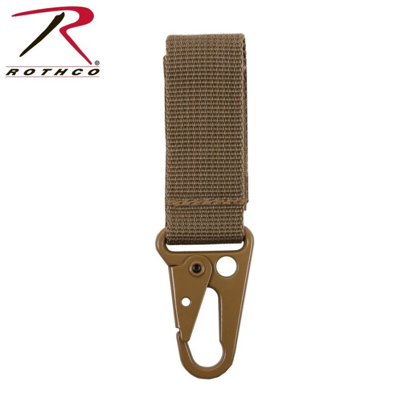 ROTHCO TACTICAL KEY CLIP - COYOTE - Hock Gift Shop | Army Online Store in Singapore