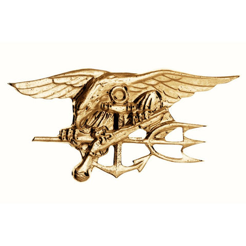 ROTHCO US NAVY SEALS PIN - GOLD - Hock Gift Shop | Army Online Store in Singapore