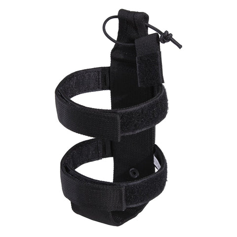 ROTHCO LIGHTWEIGHT MOLLE BOTTLE CARRIER - BLACK