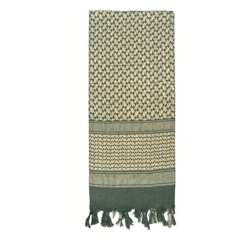 ROTHCO SHEMAGH TACTICAL DESERT SCARF - FOLIAGE GREEN