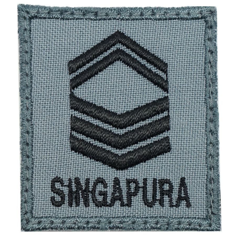 MINI RSAF/RSN RANK PATCH - 1SG