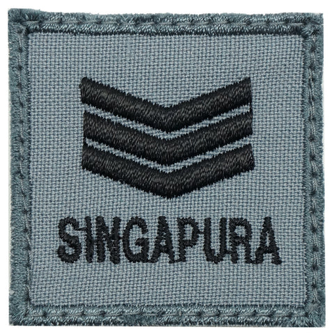 MINI RSAF/RSN RANK PATCH - 3SG