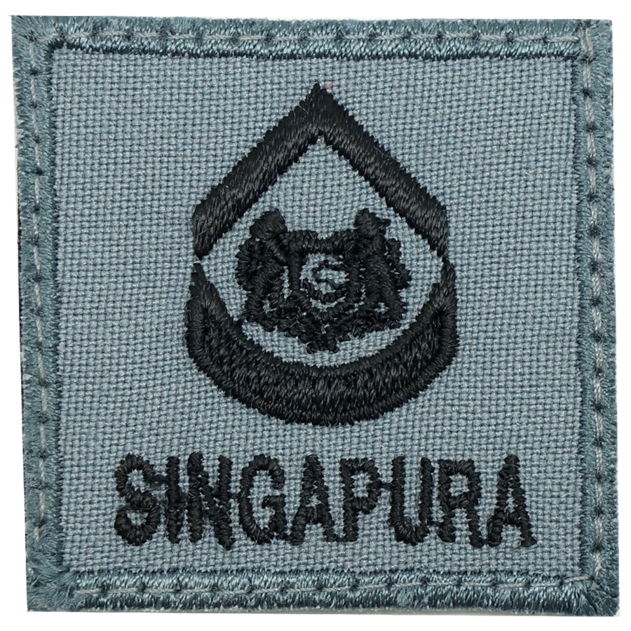 MINI RSAF/RSN RANK PATCH - 2WO