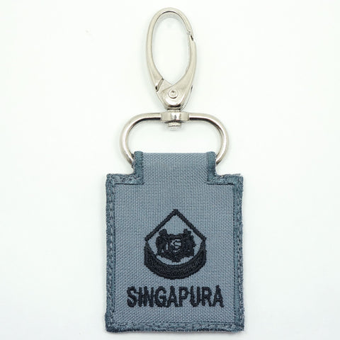 RSN / RSAF MINI RANK KEYCHAIN - 3WO (GRAY)