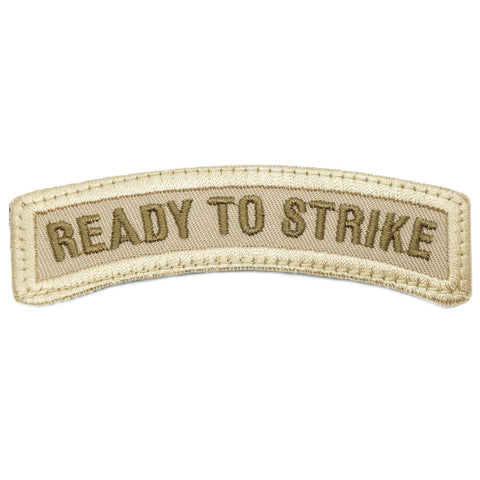 READY TO STRIKE TAB - KHAKI WITH SAND BORDER