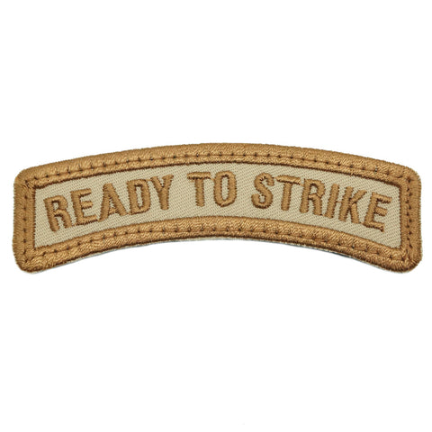 READY TO STRIKE TAB - KHAKI BORDER