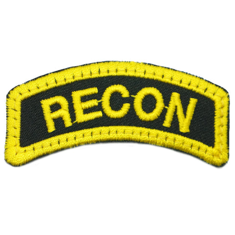 RECON TAB - BLACK YELLOW