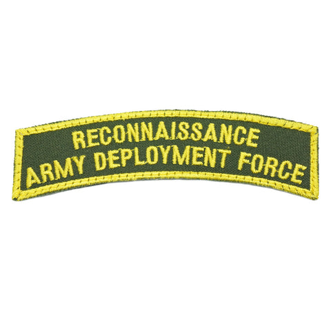 RECONNAISSANCE ARMY DEPLOYMENT FORCE TAB - OD GREEN - Hock Gift Shop | Army Online Store in Singapore