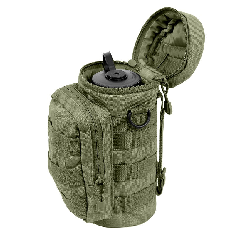 ROTHCO MOLLE COMPATIBLE WATER BOTTLE POUCH - OLIVE DRAB