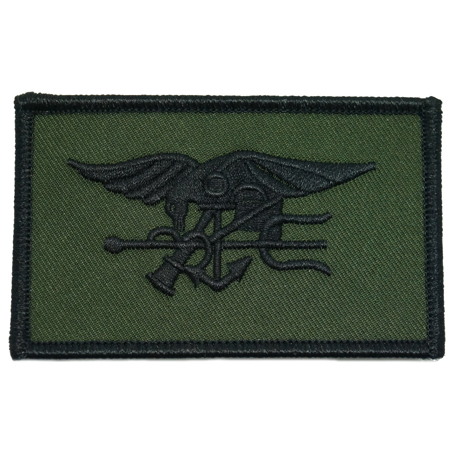 ROTHCO NAVY SEAL PATCH - OD GREEN