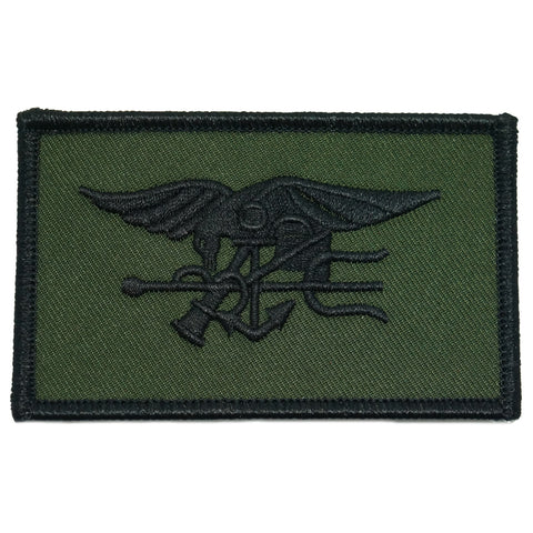 NAVY SEAL PATCH - OD GREEN