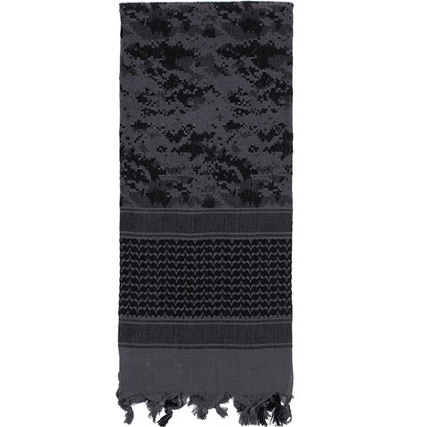 ROTHCO CAMO SHEMAGH TACTICAL DESERT SCARF - SUBDUED URBAN DIGITAL
