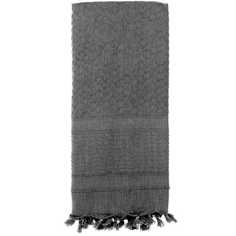 ROTHCO SOLID COLOR SHEMAGH TACTICAL DESERT SCARF - GREY