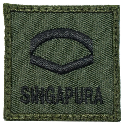 MINI SAF RANK PATCH - LCP (OD GREEN)