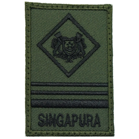 MINI SAF RANK PATCH - ME5 (OD GREEN)