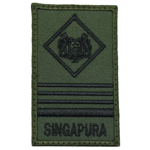 MINI SAF RANK PATCH - ME6 (OD GREEN)