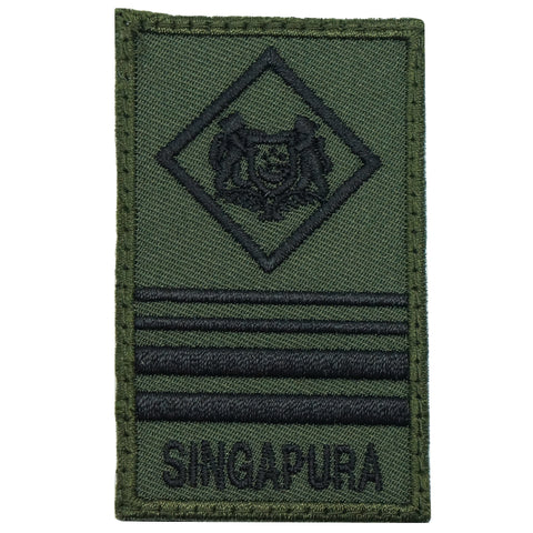 MINI SAF RANK PATCH - ME8 (OD GREEN)