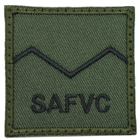 MINI SAF RANK PATCH - SV 1 (OD GREEN)