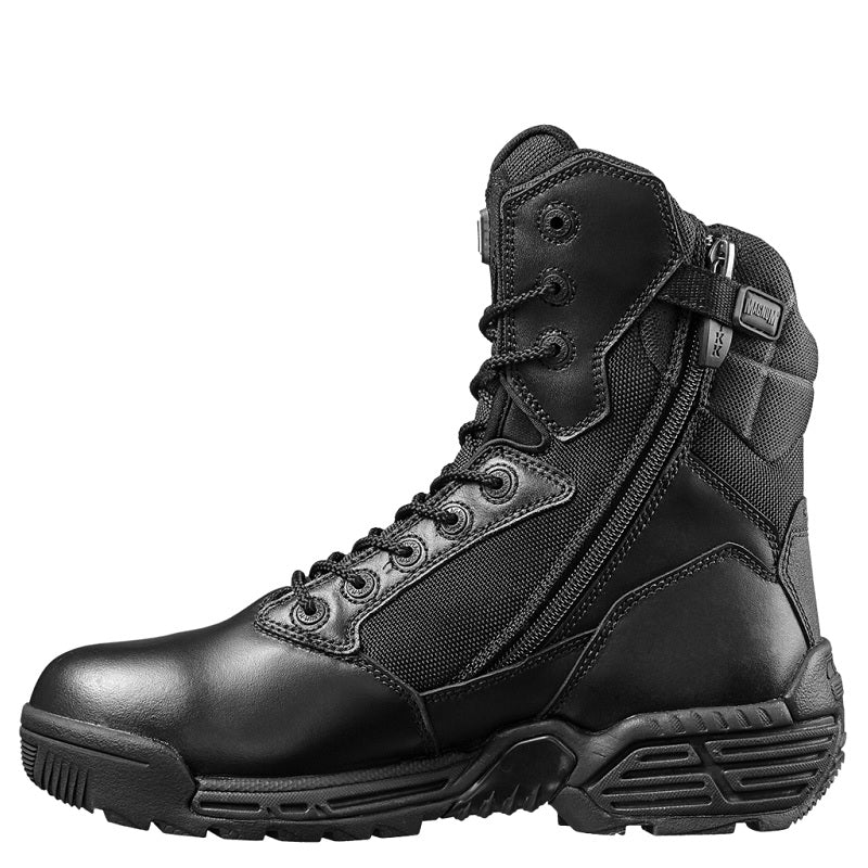MAGNUM STEALTH FORCE 8.0 SIDE ZIP - BLACK