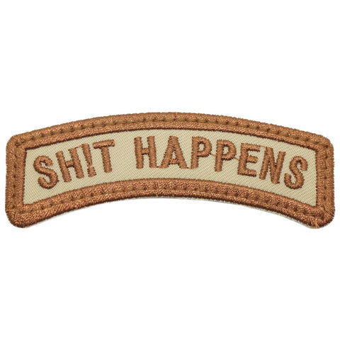 SHIT HAPPENS TAB - KHAKI