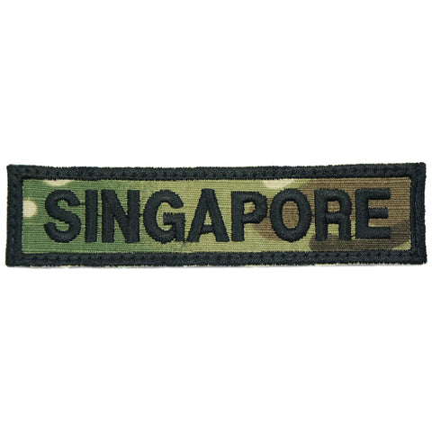 LBV SINGAPORE COUNTRY TAG - MULTICAM