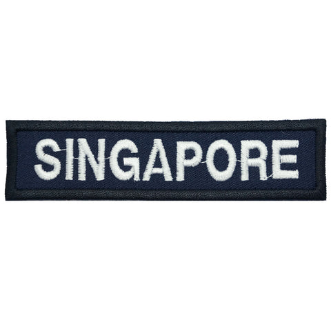LBV SINGAPORE COUNTRY TAG - NAVY BLUE