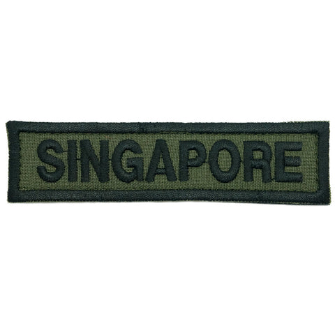 LBV SINGAPORE COUNTRY TAG - OD GREEN