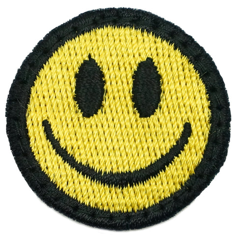 SMILEY FACE PATCH - FULL COLOR