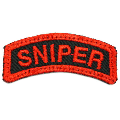 SNIPER TAB - BLACK RED
