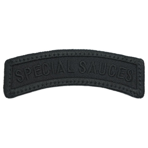 SPECIAL SAUCES TAB - ALL BLACK